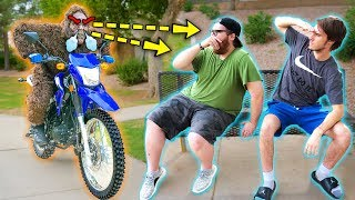 BigFoot CHASES Youtubers on Dirtbike!