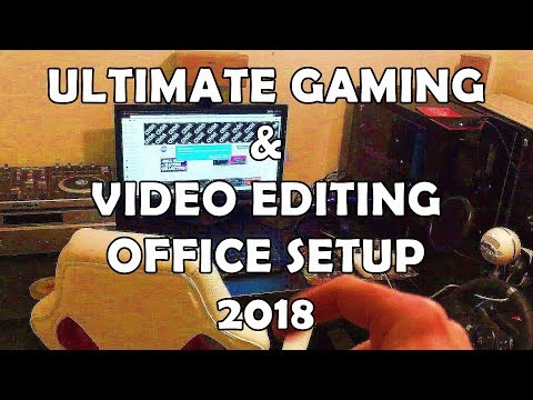 Gaming And Editing Setup Office Room Tour