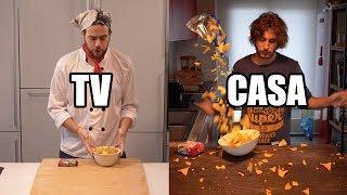Cucina in tv VS Cucina a casa