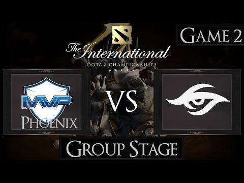 Dota 2 The International 2015 MVP Phoenix vs Team Secret
