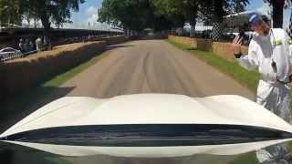 Porsche Panamera GTS on the Goodwood Hill