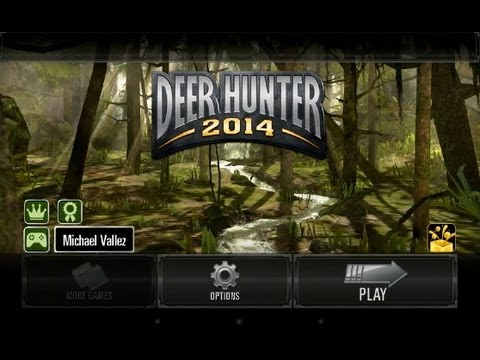 DEER HUNTER 2014 Android App Review (Gameplay) (Walkthrough)
