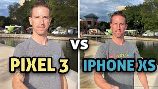 Pixel 3 vs iPhone XS - CAMERA TEST