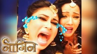 Naagin Co-Stars Will Miss Each Other | Watch Funny Crying Video
