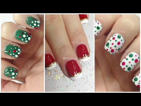 Diy Easy Christmas Nail Art Designs For Beginners - The Ultimate Guide #2 video
