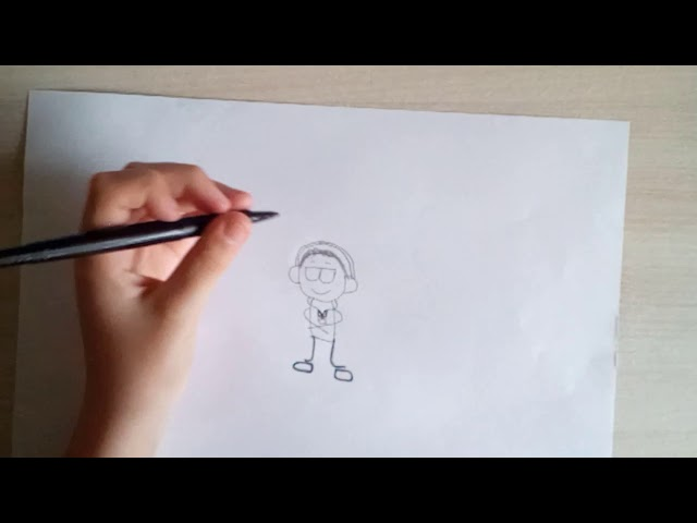 Tuto dessin: Comment faire un rappeur DEBILE !!!!! :)