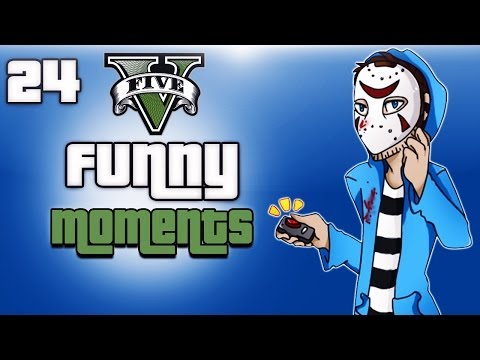 GTA 5 Online Funny Moments Ep. 24 (Flying Boats, Windmills, Random Fun)