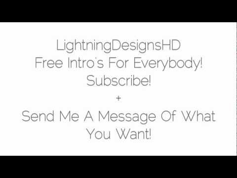 Free Intro's For Everybody!!