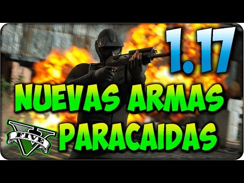 NUEVO DLC 1.17 GTA 5 ! Nuevas ARMAS - Fusil de Tirador y Escopeta Pesada + Nuevos Paracaidas