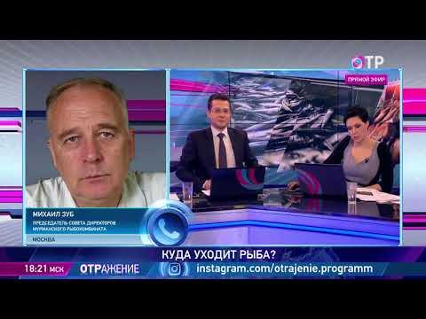 Михаил Зуб: Малое количество рыбы, отправляемой на внутренний рынок, и создает рост цен