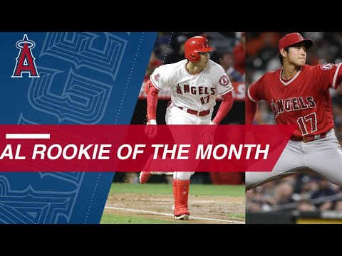 Shohei Ohtani wins April 2018 AL Rookie of the Month
