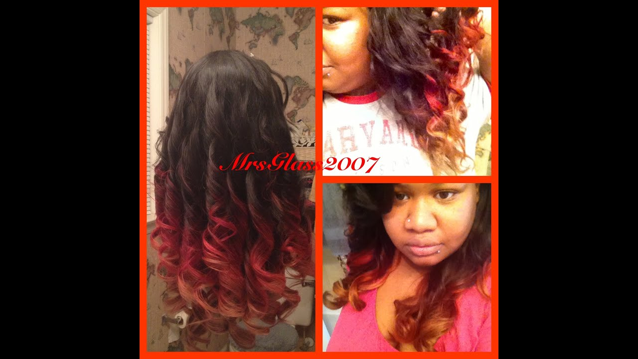 This Girl Is On Fire... Fire Ombre Tutorial - YouTube Alicia Keys Girl On Fire