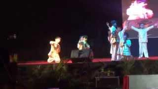 Nikhil's dance on Eid Mubarak song