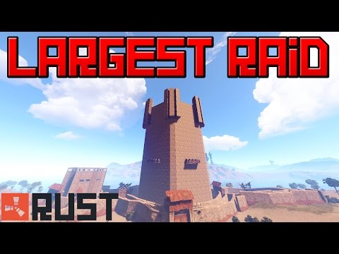 Literally the BIGGEST RAID POSSIBLE in RUST (Meme)