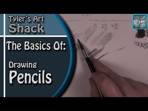 The Basics of Drawing Pencils