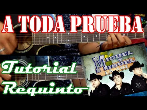 Tutorial | A toda prueba | Miguel y Miguel | Requinto | TABS