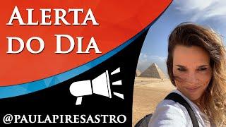 ALERTA DE ECLIPSE DE TERÇA - POR PAULA PIRES