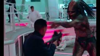 Predator 2018 All Fight Scenes