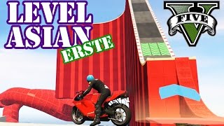 ES WIRD HEFTIG! MEINE ERSTE LEVEL ASIAN ★ GTA 5 Online Custom Map Community Race | PowrotTV