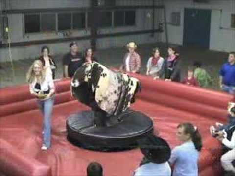 HS Girls Bull Riding