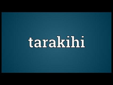 Header of tarakihi