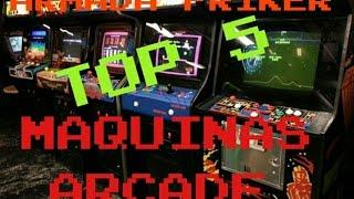 top 5 arcades maquinas recreativas