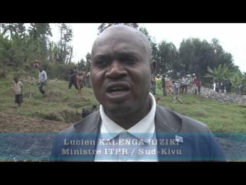 Sud-Kivu (RD Congo):Reportage Pavés