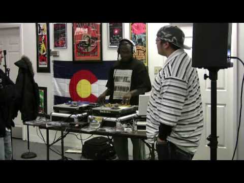 DJ Ktone and Hypeman P @ cheapo discs live 2-8-08 Video