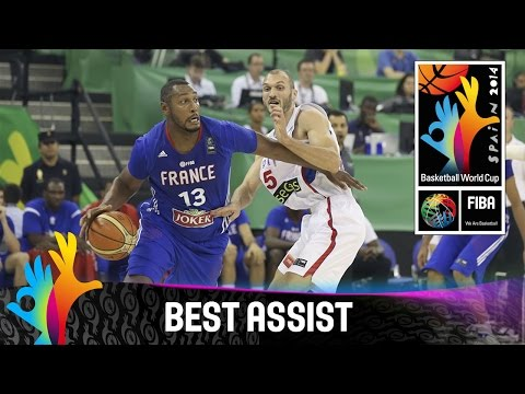 Serbia v France - Best Assist - 2014 FIBA Basketball World Cup