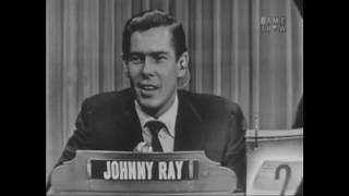 What's My Line? - Johnnie Ray (Aug 22, 1954) [W/ COMMERCIALS]