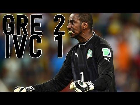 Samaras Handles Penalty Kick Pressure [Greece vs. Cote D'Ivoire Recap]