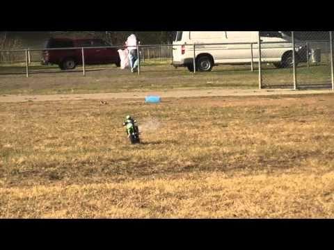 ARX 540 nitro rc motocross bike