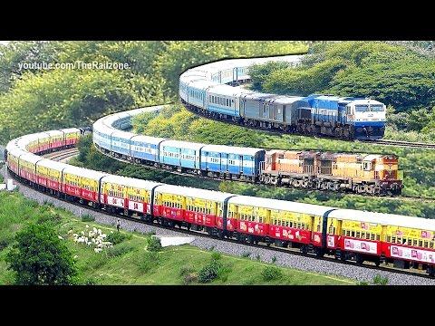 The Last days of Diesel Trains   Bangalore - Mysore   Indian Railways thumbnail
