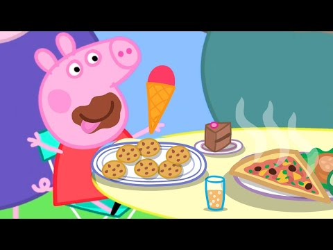 Peppa Pig English Episodes 🍅 Peppa Pig's Best Salad Ever 🍅 Peppa Pig Official