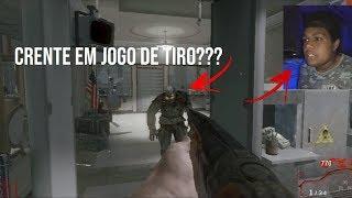Call Of Duty Black Ops(modo zumbi):Crente jogando