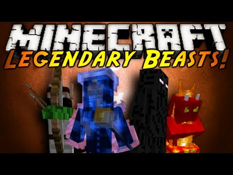Minecraft Mod Showcase : LEGENDARY BEASTS!