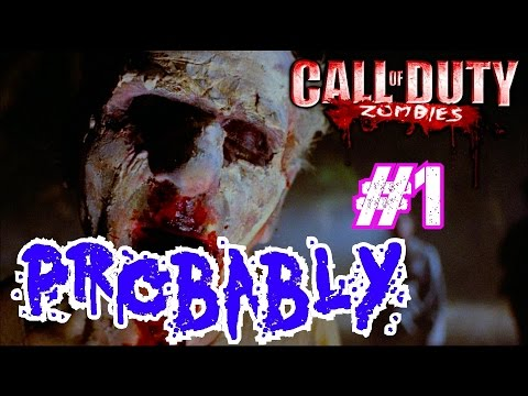 Call of Duty Custom Zombies: PROBABLY A ZOMBIE Part 1▐ LOVE the NGT-Themed Weapons!