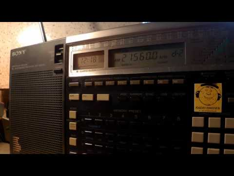 24 06 2016 Vatican Radio in Armenian to ME 1218 on 17590, 21560 SM di Galeria