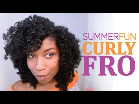 "Summer FuN Curly Fro ""Natural Hair"""