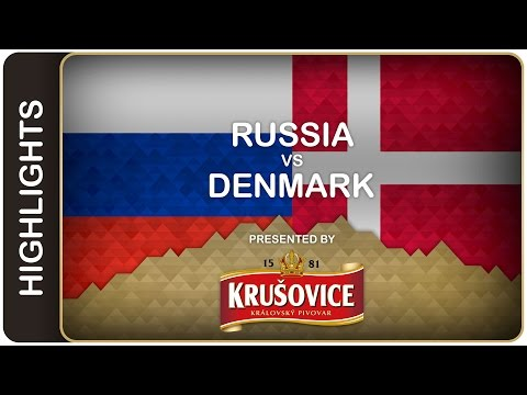 Hosts outclass Denmark by 10-1 count | Russia-Denmark HL | #IIHFWorlds 2016