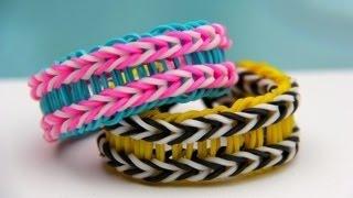 Rainbow Loom Nederlands - Houston Bracelet - Loom bands
