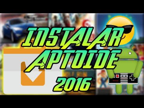INSTALAR APTOIDE 2016
