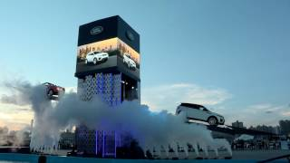 Jaguar Land Rover Evoque Seesaw Display