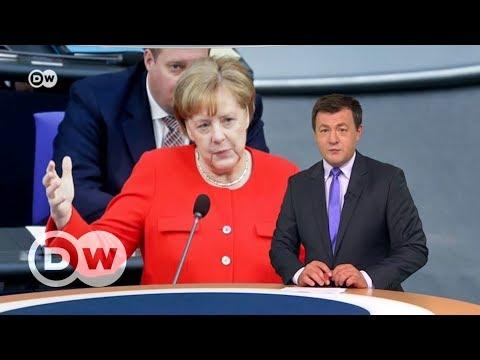 Что Ангела Меркель думает о возвращении России в G8 - DW Новости (06.06.2018)