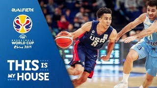 Uruguay v United States - Full Game - FIBA Basketball World Cup 2019 - Americas Qualifiers