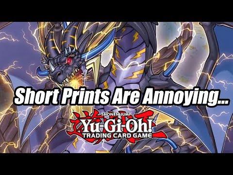 Yu-Gi-Oh! Short Prints Are Annoying...