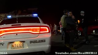 "Cops Bust Car Meet for ""Trespassing Private Property"""