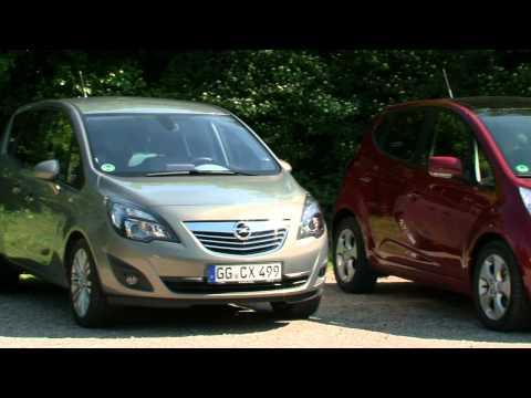 Carshow Minivans (KIA Venga | Opel Meriva | Toyota Verso-S) - HD - Deutsch