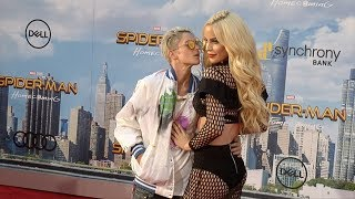 "Gigi Gorgeous and Nats Getty ""Spider-Man: Homecoming"" World Premiere Red Carpet"