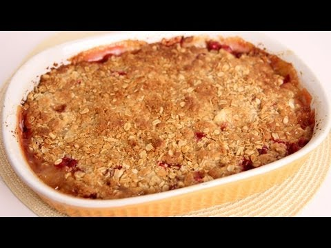 Ginger Pear & Cranberry Crisp Recipe
